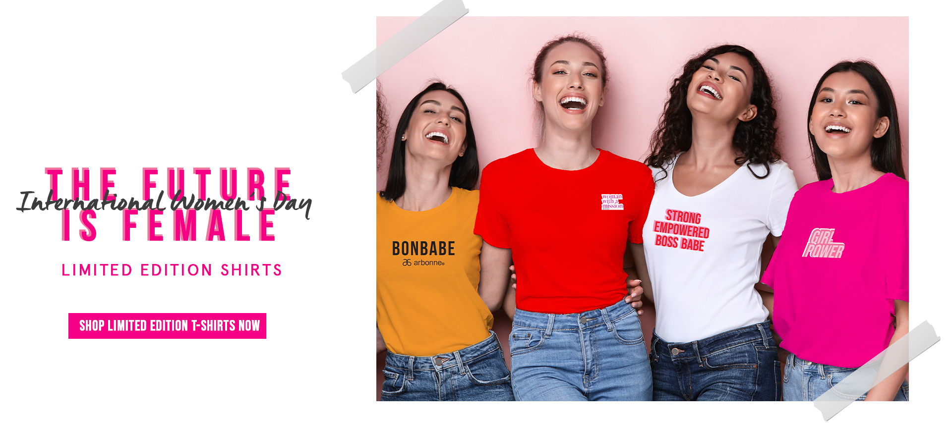 International women's day shirts